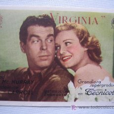 Kino - Virginia - fred mc murray madeleine carroll Edward H. Griffith dist. chamartin - 4693131