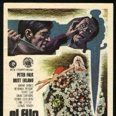 Cine: P-0250- EL FILO DE UN CUCHILLO (LA JOYA DEL CRIMEN) (TOO MANY THIEVES) PETER FALK - BRITT EKLAND. Lote 109897428