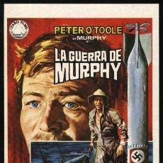 Cine: P-2610- LA GUERRA DE MURPHY (MURPHY'S WAR) PETER O'TOOLE - PHILIPPE NOIRET - SIÂN PHILLIPS. Lote 156675920