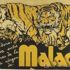 Cine: MALACA PROGRAMA PASQUIN CIFESA CINE DOCUMENTAL PERIS ARAGO. Lote 12732552