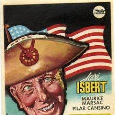 Flyers Publicitaires de films Anciens: PERRO GOLFO , SENCILLO , PM6790. Lote 4874350