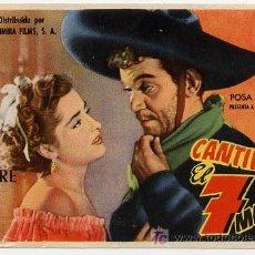Cine: EL 7 MACHOS , CANTINFLAS , SENCILLO , PM7323. Lote 4917161