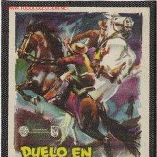 Cine: DUELO EN LA CAÑADA. Lote 24993503