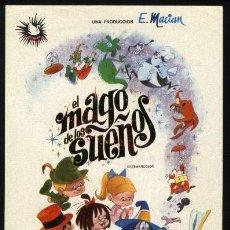 Cine: P-8418- EL MAGO DE LOS SUEÑOS. Lote 207010663