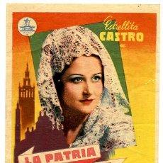 Cine: LA PATRIA CHICA , SENCILLO .S934. Lote 24636826