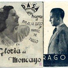 Cine: LOS DE ARAGON , GLORIA MONCAYO , DOBLE , S1038. Lote 16366343