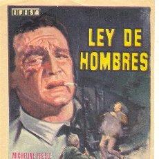Cine: LEY DE HOMBRES. Lote 54246403