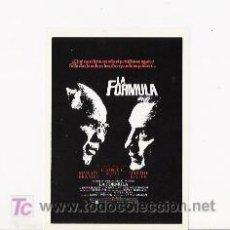 Cine: LA FORMULA, PROGRAMA MODERNO, MARLON BRANDO. Lote 5522525