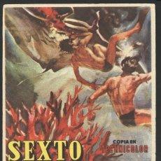 Cine: P-9404- SEXTO CONTINENTE (SESTO CONTINENTE) CINE GRANADA - GRANADA. Lote 26629804