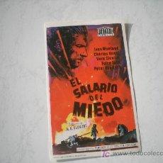 Cine: EL SALARIO DEL MIEDO. IVES MONTAND. CHARLES VANEL. VERA CLOUZOT.. Lote 262761700