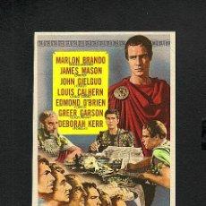Cine: JULIO CESAR (MARLON BRANDO, JAMES MASON). Lote 5835189