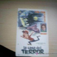 Cine: LA CASA DEL TERROR. TIN TAN. YOLANDA VARELA. LON CHANEY.. SIN PUBLICIDAD. Lote 54720965