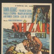 Cine: P-7555- MIZAR AGENTE SECRETO (TEATRO ANDALUCIA - CADIZ) DAWN ADDAMS - FRANCO SILVA - PAOLO STOPPA. Lote 24031641