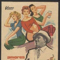 Cine: P-2859- AMORES EN ISCHIA (VITTORIO DE SICA - ISABELLE COREY - ANTONIO CIFARIELLO - NADIA GRAY). Lote 18378100