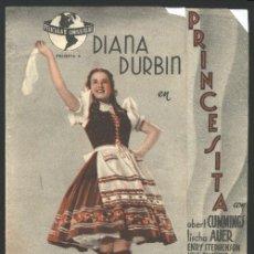 Cine: P-6888- PRINCESITA (SPRING PARADE) (DOBLE) (CINE FANTASIO) (DEANNA DURBIN - ROBERT CUMMINGS). Lote 18436519