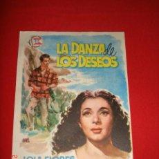 Cine: LA DANZA DE LOS DESEOS.LOLA FLORES Y JOSE SUAREZ. SUEVIA FILMS. DIRECTOR FLORIAN REY AÑO 1955. Lote 26286448