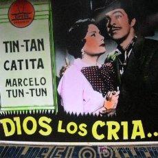 Cinéma: DIOS LOS CRIA TIN-TAN. DIAPOSITIVA 8 X 8 CM COLOREADA. Lote 6713932