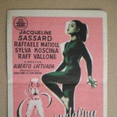 Cine: GUENDALINA. JACQUELINE SASSARD, RAFFAELE MATIOLL...... Lote 6771930