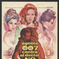 Cine: P-7382- AGENTE 007 CONTRA EL DOCTOR NO (DR. NO) SEAN CONNERY - URSULA ANDRESS - JACK LORD. Lote 139329533