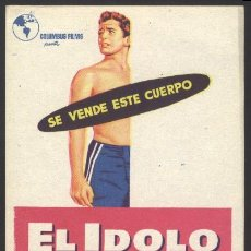 Cine: P-0864- EL IDOLO (JOHN DEREK -DONNA REED - MICKEY KNOX - ELLIOTT LEWIS - OTTO HULETT). Lote 20847470