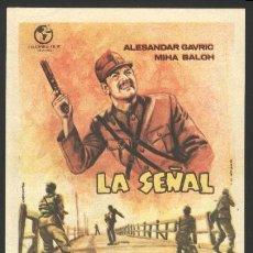 Cine: P-8434- LA SEÑAL (SIGNALI NAD GRADOM) ALEKSANDAR GAVRIC - MARIJA TOCINOSKI - MIHA BALOH. Lote 21202778