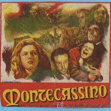 Cine: MONTECASSINO. CINE DOMENECH RUBI 1948.. Lote 7569310