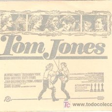 Cine: TOM JONES PROGRAMA DOBLE ESPECIAL ESTRENO ALBERT FINNEY SUSANNAH YORK. Lote 7653486