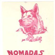 Cine: NOMADAS DEL NORTE NIKKI PROGRAMA SENCILLO CHAMARTIN WALT DISNEY C. Lote 7711712
