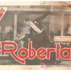 Cine: ROBERTA PROGRAMA TARJETA RKO FRED ASTAIRE GINGER ROGERS IRENE DUNNE RANDOLPH SCOTT. Lote 7820973