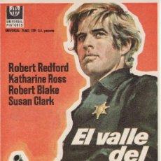 Cine: EL VALLE DEL FUGITIVO. CON ROBERT REDFORD. TIENE CUÑO DE CINE CUYÁS POR DETRAS.. Lote 48131504
