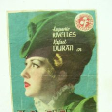 Cine: + LA FE, AMPARO RIVELLES PUBLICIDAD CINE MERIDIANA BARCELONA. Lote 8189882
