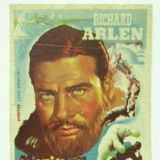 Cine: + MOTIN EN EL ARTICO 1945 PUBLICIDAD SALON CONDAL BARCELONA. Lote 8190087