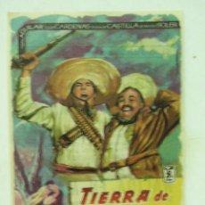 Cine: + TIERRA DE HOMBRES, CINES SANS BARCELONA. Lote 8190170