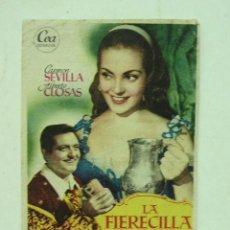 Cine: + BLANES CINE FORTUNY LA FIERECILLA DOMADA, CARMEN SEVILLA GIRONA. Lote 18495135