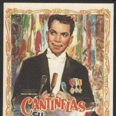 Cine: P-1786- SU EXCELENCIA (MARIO MORENO (CANTINFLAS) - SONIA INFANTE - GUILLERMO ZETINA - TITO JUNCO). Lote 22756860