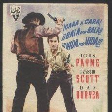 Cine: P-2293- FILON DE PLATA (SILVER LODE) JOHN PAYNE - LIZABETH SCOTT - DAN DURYEA - DOLORES MORAN. Lote 22795587
