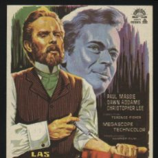 Cine: P-3946- LAS DOS CARAS DEL DR. JEKYLL (THE TWO FACES OF DR. JEKYLL (JEKYLL'S INFERNO) CHRISTOPHER LEE. Lote 115388947