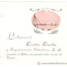 Cine: LAS CUATRO PLUMAS PROGRAMA DOBLE TROQUELADO FILMOFONO JUNE DUPREZ ALEXANDER ZOLTAN KORDA MUY RARO. Lote 18357176