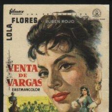 Cine: P-5466- VENTA DE VARGAS (LOLA FLORES - RUBÉN ROJO - MARÍA ESPERANZA NAVARRO). Lote 22885204
