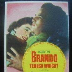 Cine: HOMBRES MARLON BRANDO. Lote 18934154