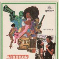 Cine: ALGODON EN HARLEM.-SIN PROPAGANDA.AÑO 1971. Lote 131107235