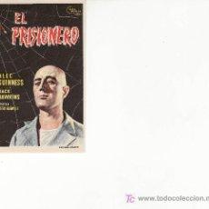Cine: EL PRISIONERO.SIN PROPAGANDA. ALEC GUINNESS ,JACK HAWKINS. Lote 23400884