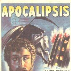 Cine: APOCALIPSIS SIMPLE 1948 LILIA LANDI VERA BERGMAN TULLIO CARMINATI. Lote 8718933