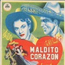 Cine: MALDITO CORAZON. Lote 24767449