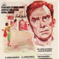Cine: LA BECERRADA.FERNANDO FERNAN GOMEZ..PROGRAMA DE MANO. MAS PROGRAMAS EN RASTRILLOPORTOBELLO. Lote 26836726