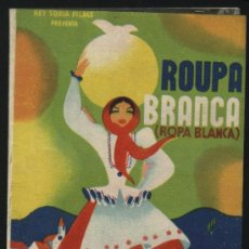 Cine: P-8230- ROUPA BRANCA (ROPA BLANCA) (ALDEIA DA ROUPA BRANCA) (DOBLE) MANUEL SANTOS CARVALHO. Lote 23575927