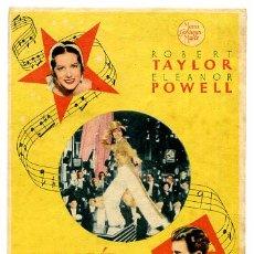 Cine: LA MELODIA DE BROADWAQY 1936 , SENCILLO , S1334. Lote 16095909