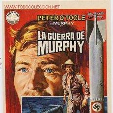 Cine: LA GUERRA DE MURPHY , SIN CINE , PMD 322. Lote 26153637