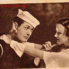 Cine: TARJETA MGM - COMPAÑEROS - ROBERT MONTGOMERY - EN DORSO GRAN CORCURSO 1932-33 METRO GOLDWYN MAYER. Lote 15138613
