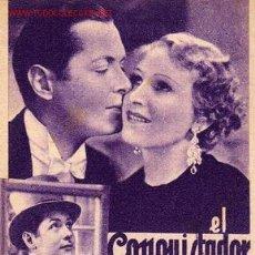 Cine: TARJETA MGM - EL CONQUISTADOR IRRESISTIBLE - C. AUBREY SMITH - ROBERT MONTGOMERY. Lote 15138587